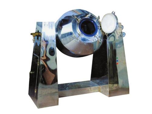 搪玻璃双锥回转真空干燥机—淄博中升机械
