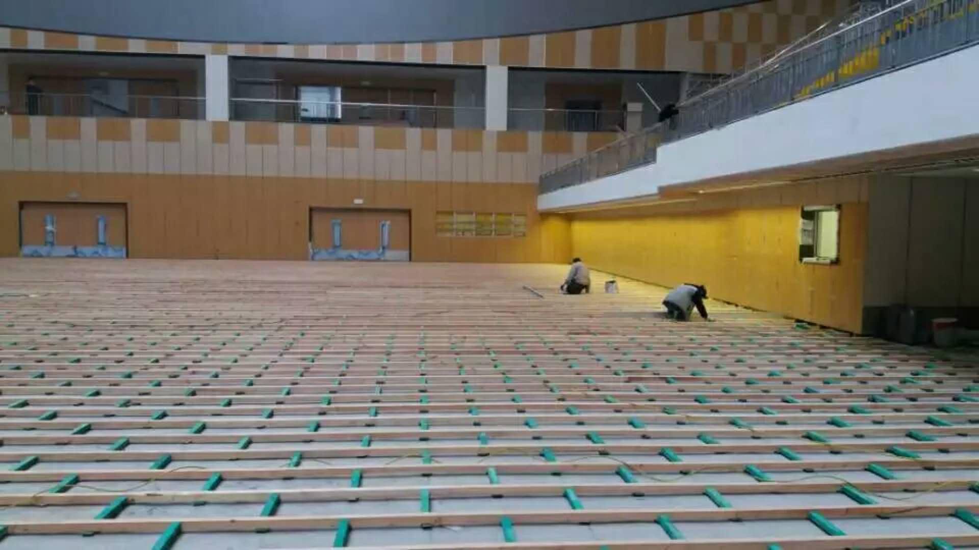运动木地板的应用