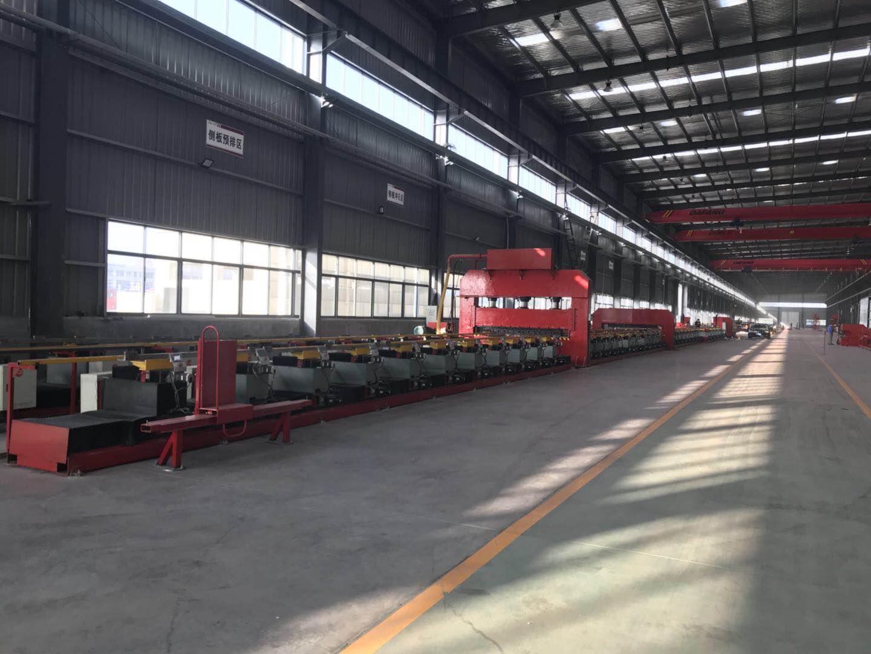 厢式货车面板铆接生产线