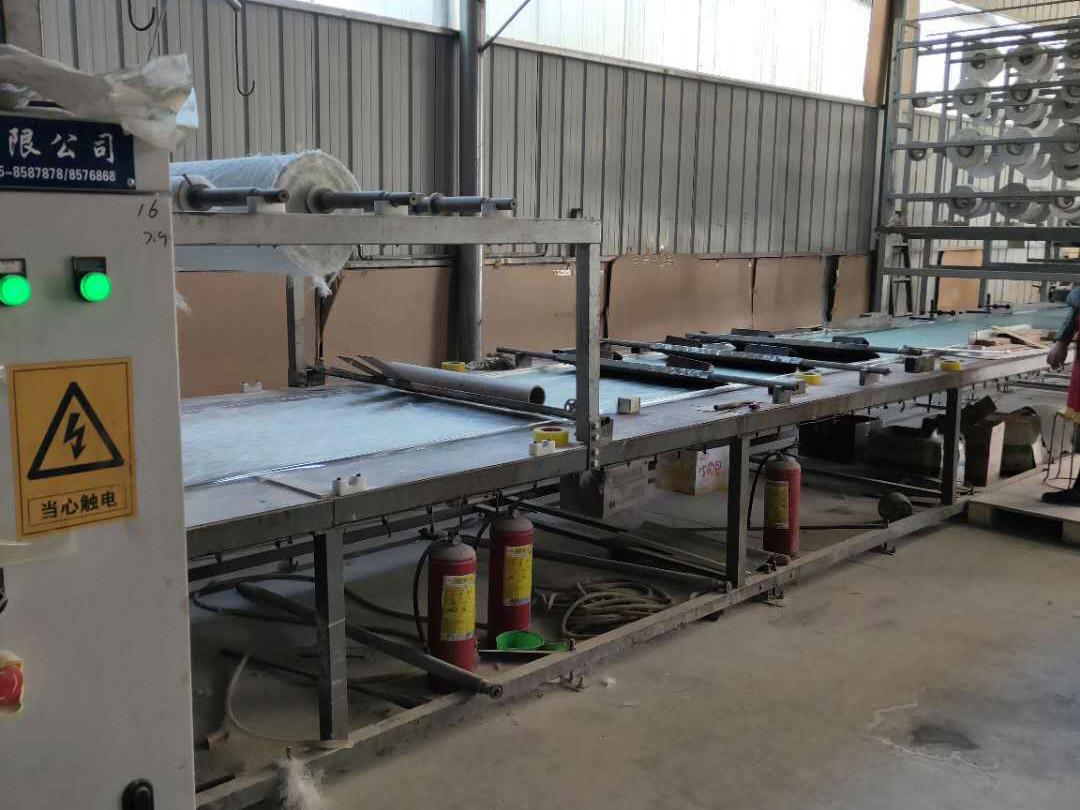 衡水腾达采光板一台二手纯电动的采光板机器出售