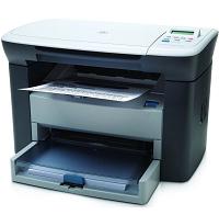 惠普黑白激光打印机三合一多功能一体机