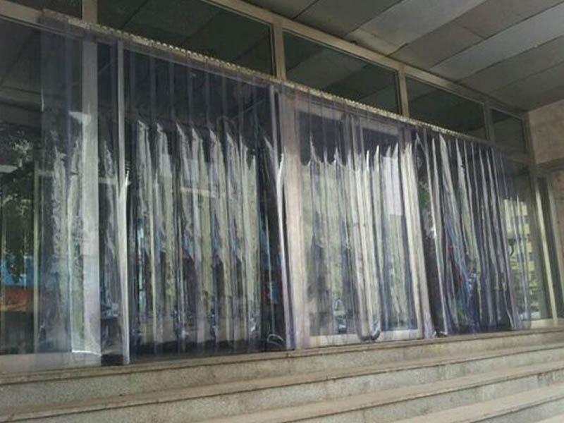 宁夏透明门帘-价格便宜的银川透明门帘厂家