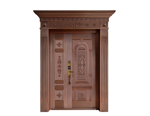 广西庭院子母铜门价格-知名的子母铜门供应商