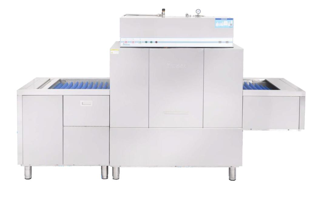 广东口碑好的长龙式自动输送洗碗机出售-酒店洗碗机产品