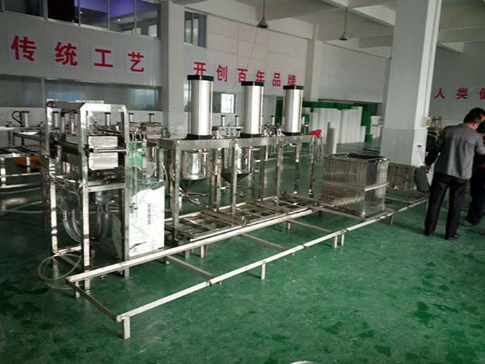 山东豆腐干机-选购质量可靠的豆腐干机就选祯科食品机械