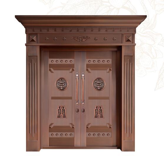 南宁纯铜门,纯铜大门生产定制
