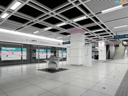 划算的弧形铝方通当选广州市富腾建材科技-热门地铁铝方通