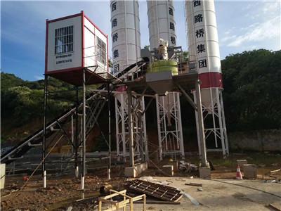 南宁混凝土搅拌站设备,HJS75搅拌站供应