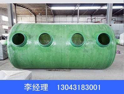 65立方玻璃钢缠绕化粪池加工定制_订做65立方玻璃钢缠绕化粪池