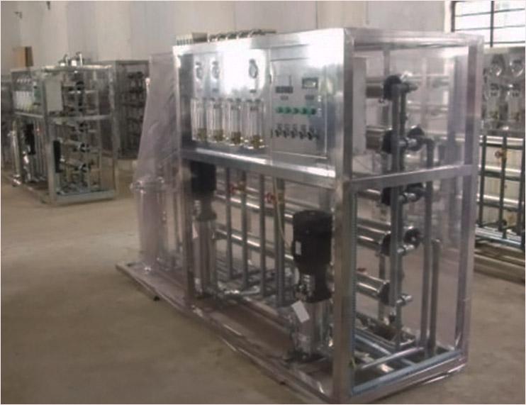 精細電子電導行業清洗用去離子純水設備反滲透水處理設備廠家直銷