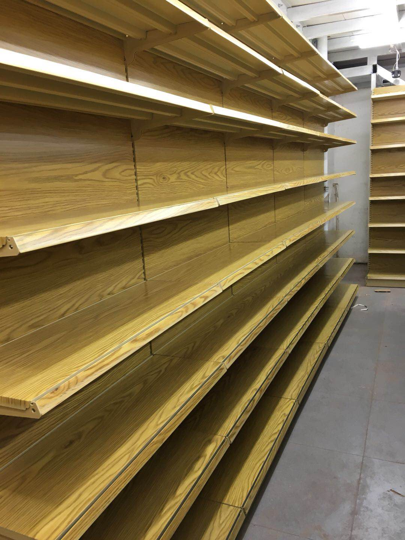 呼和浩特超市货架公司 呼和浩特区域专业的呼市木制货架厂家