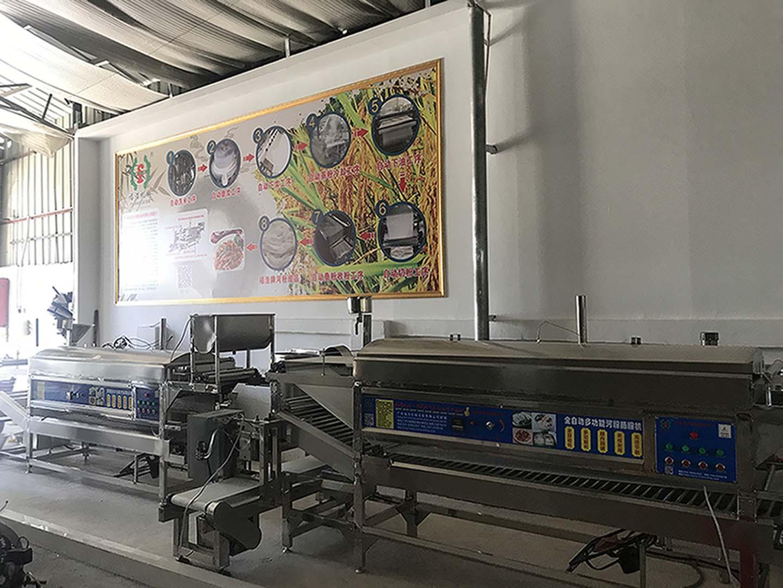 全自动米线机,哪里有可靠的多功能粉机生产线定制