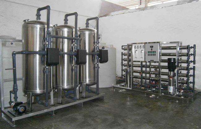 實驗室精細用誰行業水處理設備定制廠家 全不銹鋼反滲透凈水設備