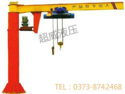大量供应优良的BZD型悬臂吊起重机-宁夏定柱式悬臂多少钱
