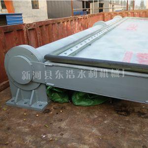 底横轴液压翻板钢闸门(钢制景观坝)