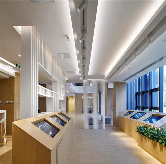 欢聚时代办公楼装修设计 郑州写字楼设计 办公室装修设计哪家好