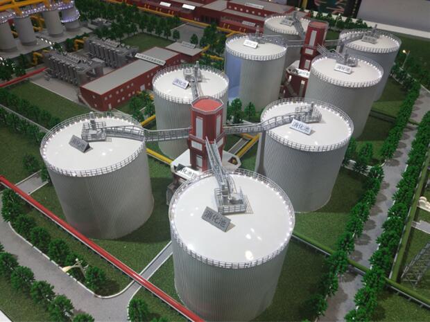 唐山工業沙盤|北京市專業的工業沙盤模型公司