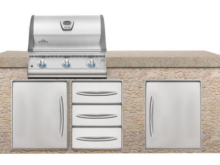 户外厨房选哪家-大量供应品质好的烧烤炉