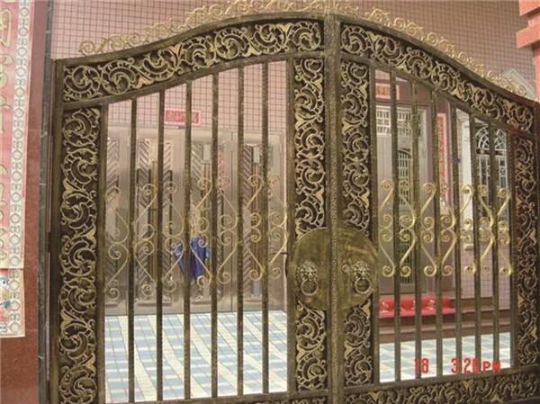 广西欧式铁艺大门-为您推荐广西金铁牛工艺品质好的铁艺大门