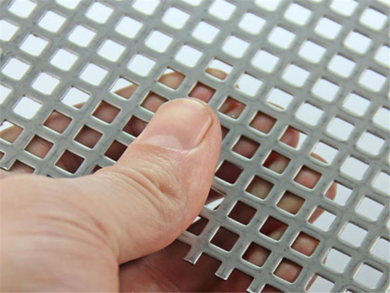 冷板鐵板方孔沖孔網片--安平縣萬諾絲網