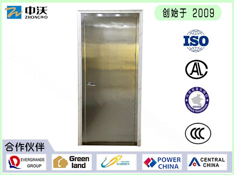 郑州中沃不锈钢平板防火门-不锈钢平板防火门厂家直销价格