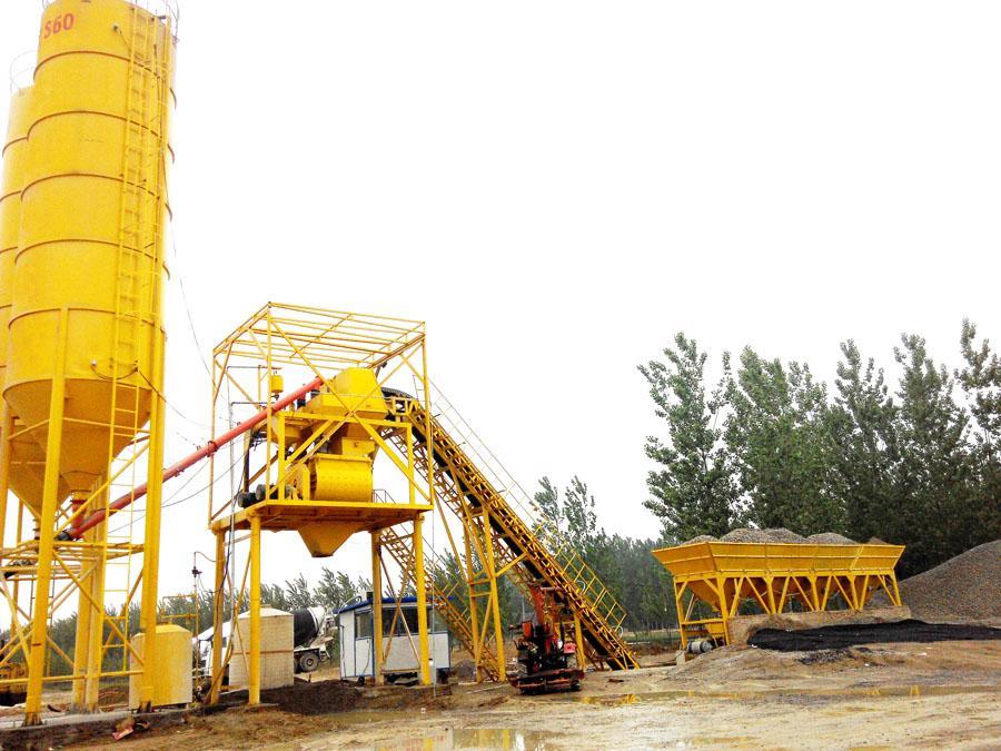HZS90混凝土搅拌站厂家|山东高质量的混凝土搅拌站供应