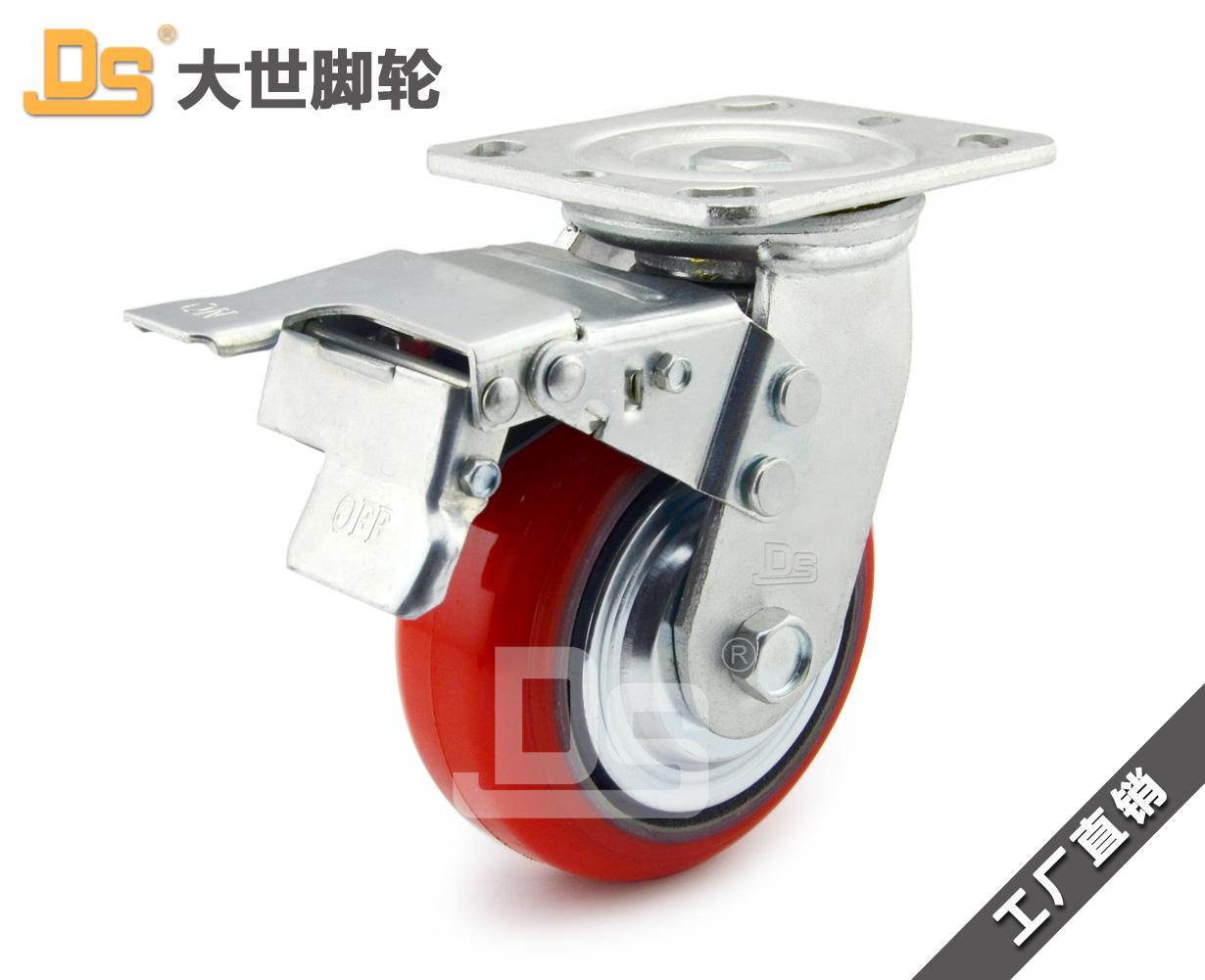 铁芯聚氨酯脚轮-铁芯聚氨酯脚轮哪家好-铁芯聚氨酯脚轮厂家