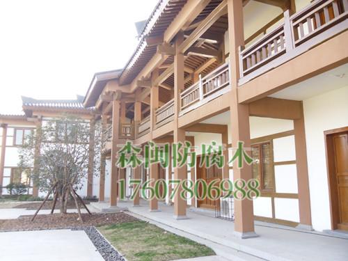 防腐木屋,木花架定做,南宁木结构景观工程