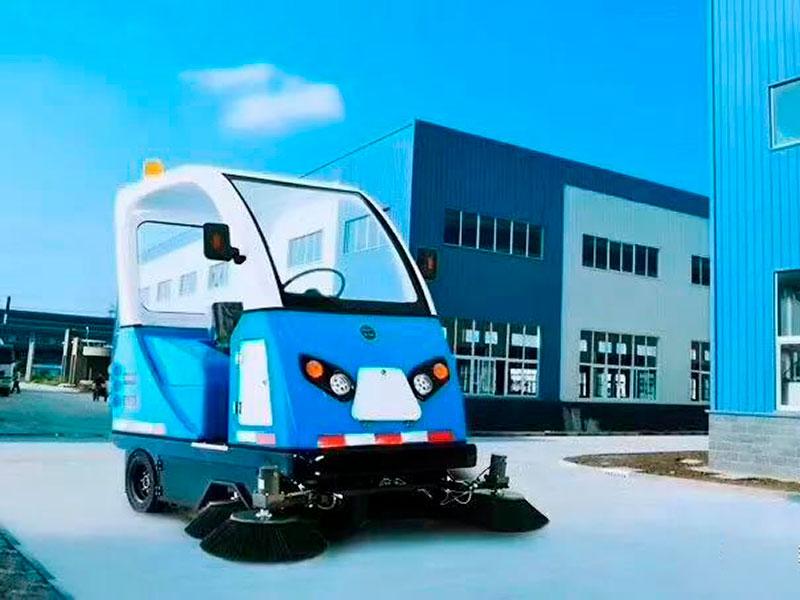 尚勇环保供应质量好的全封闭驾驶式扫地车 鹤壁全封闭扫地机报价