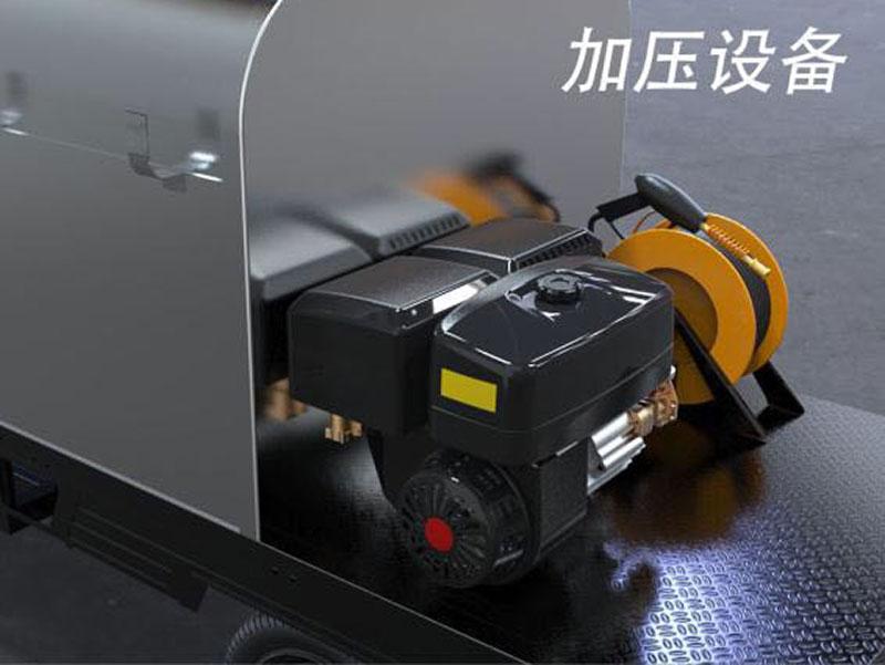 尚勇环保供应高质量的高压冲洗车-周口高压洗扫车厂家