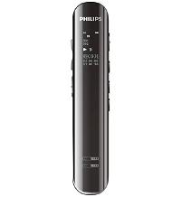 供应格鲁普电子报价合理的飞利浦会议采访降噪双麦克风数码锂电录音笔,小米手机