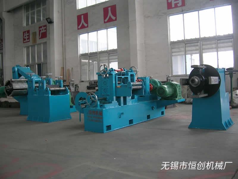 苏州550型纵剪机定制厂家-恒创机械550型纵剪机供货商