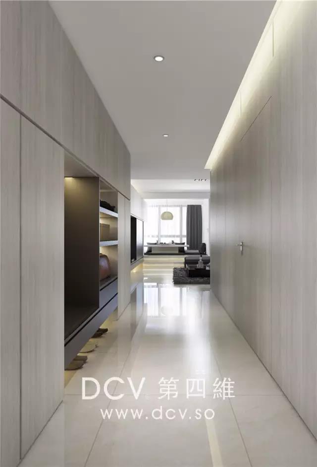 西安-紫汀苑极简平层别墅室内装修设计(曲江)