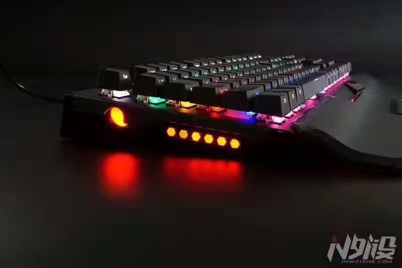 游戲發燒友推薦值得入手的電競鍵盤網咖網吧專用鍵盤鼠標