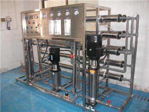 【廠家推薦】質量良好的雙級反滲透純水設備供銷反滲透純水處理器
