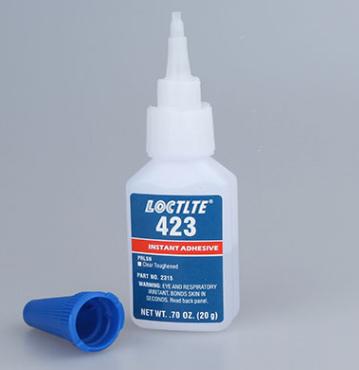 樂泰423膠水低白化瞬干膠強力快干膠低氣味膠水