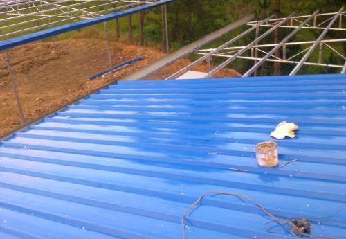 咸阳弧形彩钢大棚施工-起龙越达彩钢提供西安地区销量好的圆弧彩钢大棚