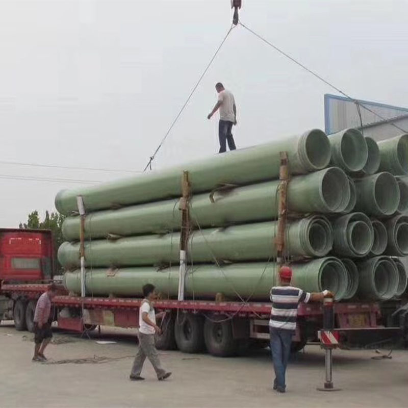 广东玻璃钢夹砂管厂家-有品质的玻璃钢夹砂管道厂家就是真旺