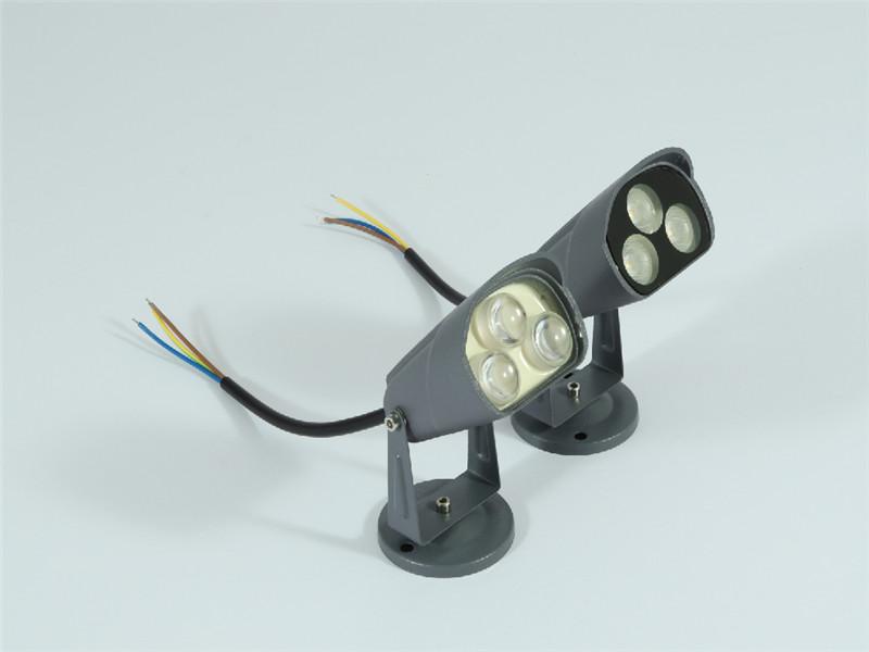 led防水射灯3w6w柱子补光灯户外照树灯厂家直销