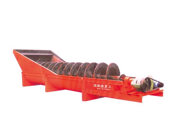 細砂回收機批發-湘德夏工物超所值的螺旋洗砂機出售