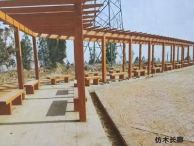 宁夏仿木长廊厂家直销-可靠的银川仿木长廊供应商