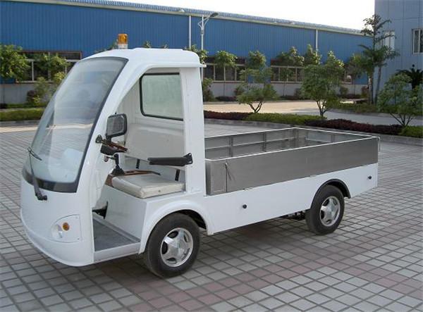 湖南株洲四轮电动送餐车图片-买专业的8座位电动游览观光车当然是到高尔电动车了