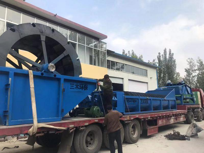 水轮洗砂机厂家-三木环保设备品质好的水轮洗砂机出售