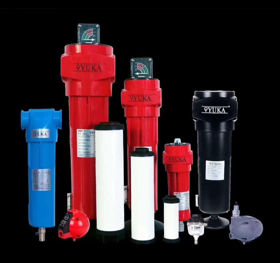 YF-B-090压缩空气过滤器-秦谯机电压缩空气过滤器供货商