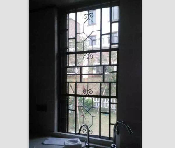 南宁焊接铝窗花,防护防盗窗花