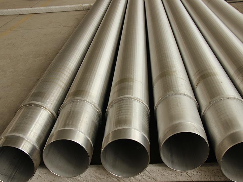 甘肃过滤水双层管报价,欧亿石油专业供应基管式滤水管