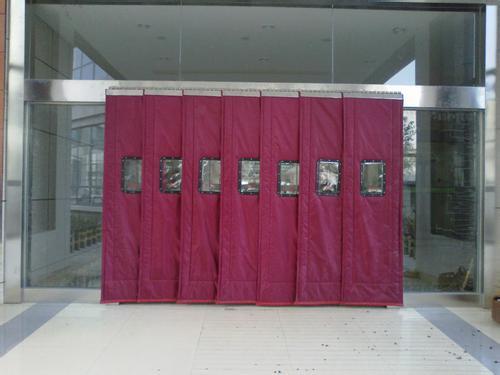 咸阳商场棉门帘设计-西安哪里有供应价格优惠的棉门帘