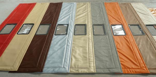 玮晨窗帘优惠的棉门帘——学校棉门帘订做