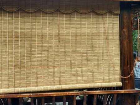 竹簾定做-想買款式新的漢中竹窗簾就到瑋晨窗簾