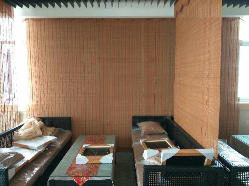 印花竹窗帘安装-陕西实惠的渭南竹窗帘品牌